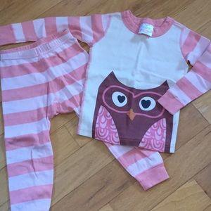 Hanna Andersson owl pajamas